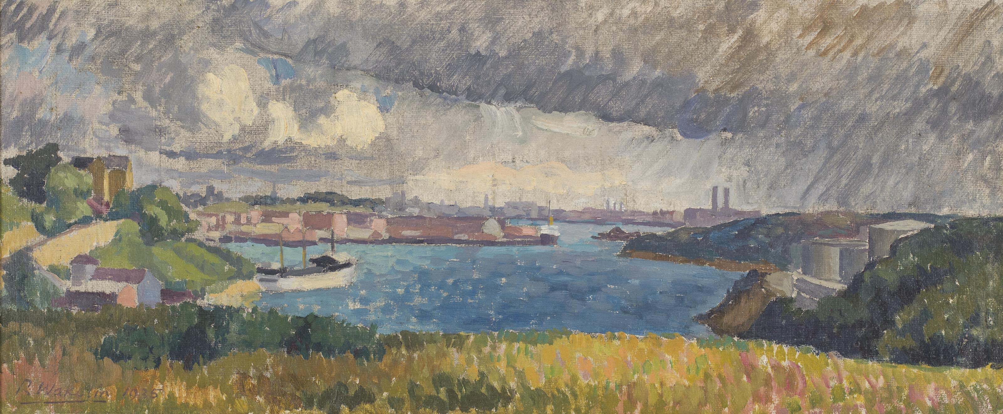 Storm over the Bay, 1935