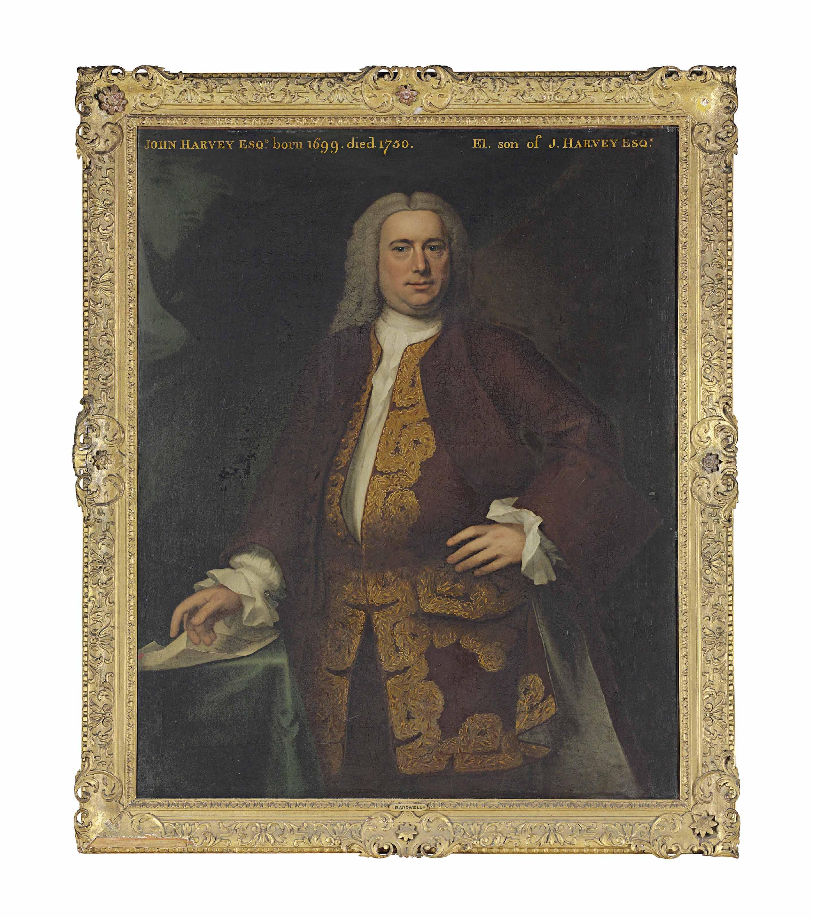 John Theodore Heins (?Germany c.1697-1756 Norwich)