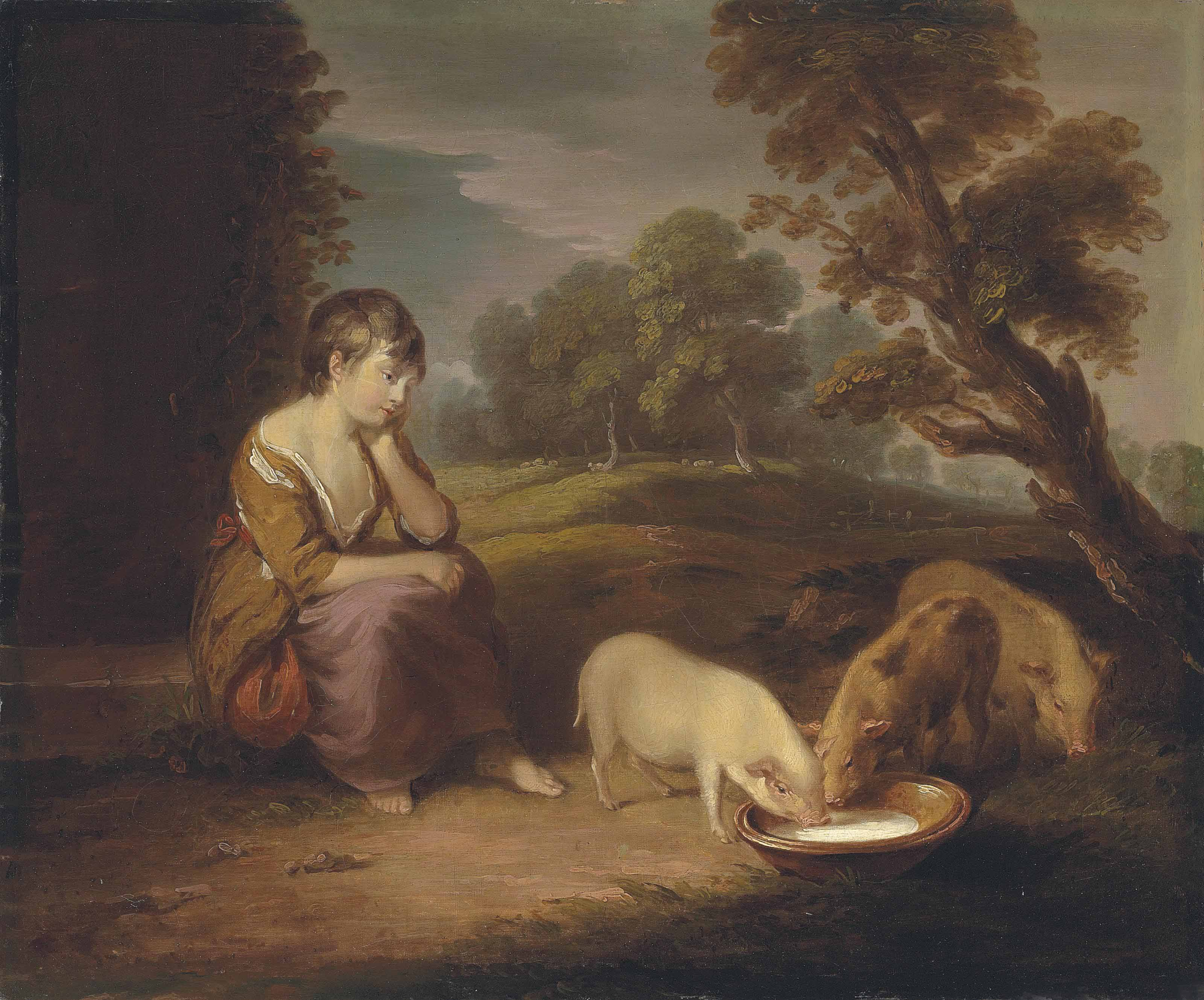 After Thomas Gainsborough, R.A.