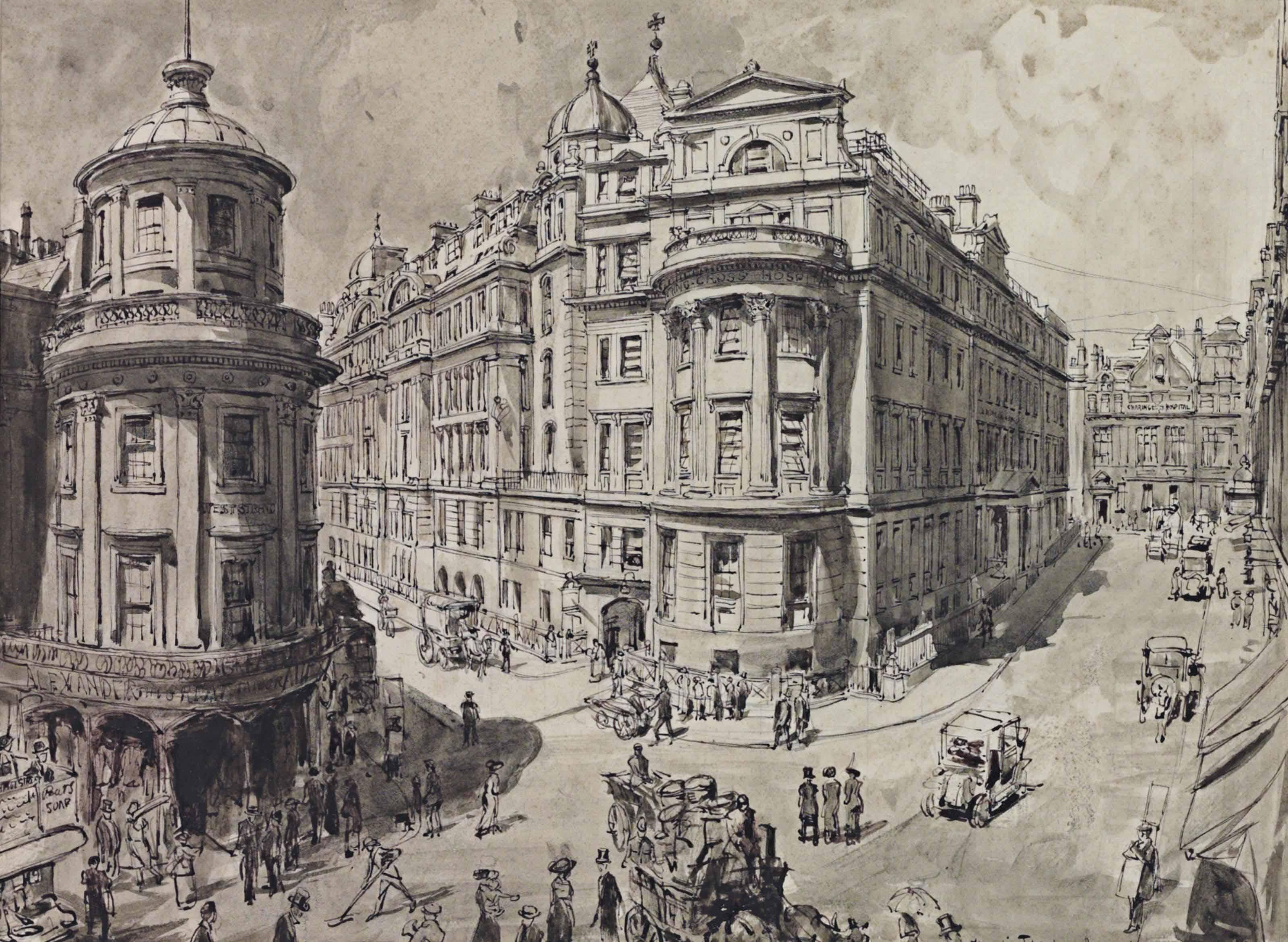 Hanslip Fletcher (London 1874 - 1955)