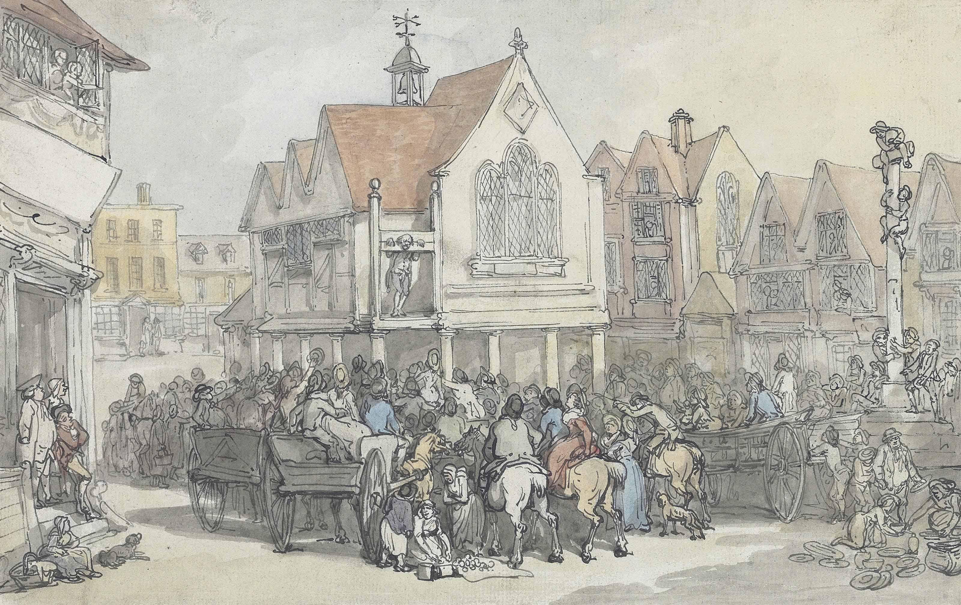 Thomas Rowlandson (London 1756-1827)