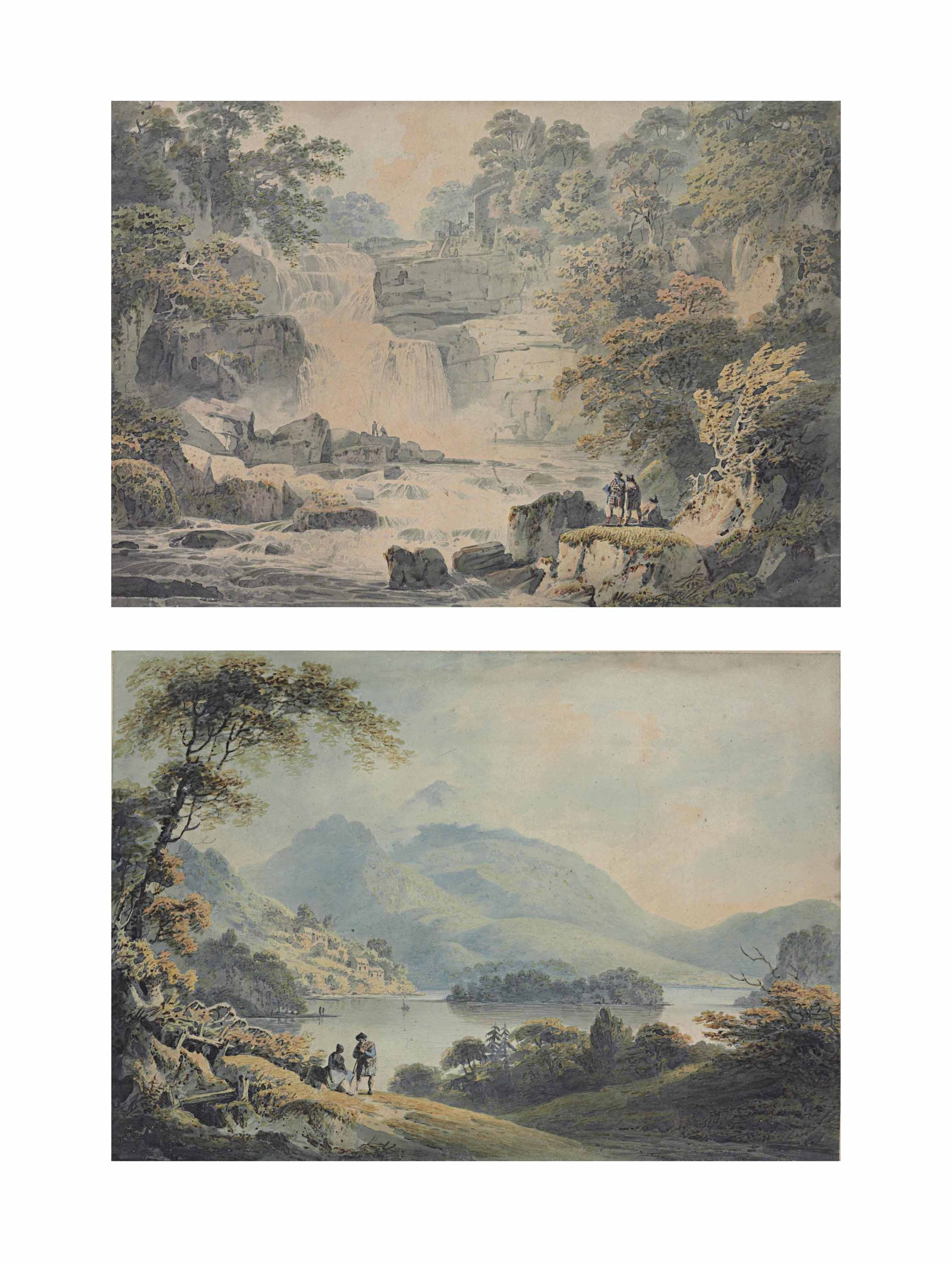 Stone Byer Lin, on the Clyde; and Loch Lomond
