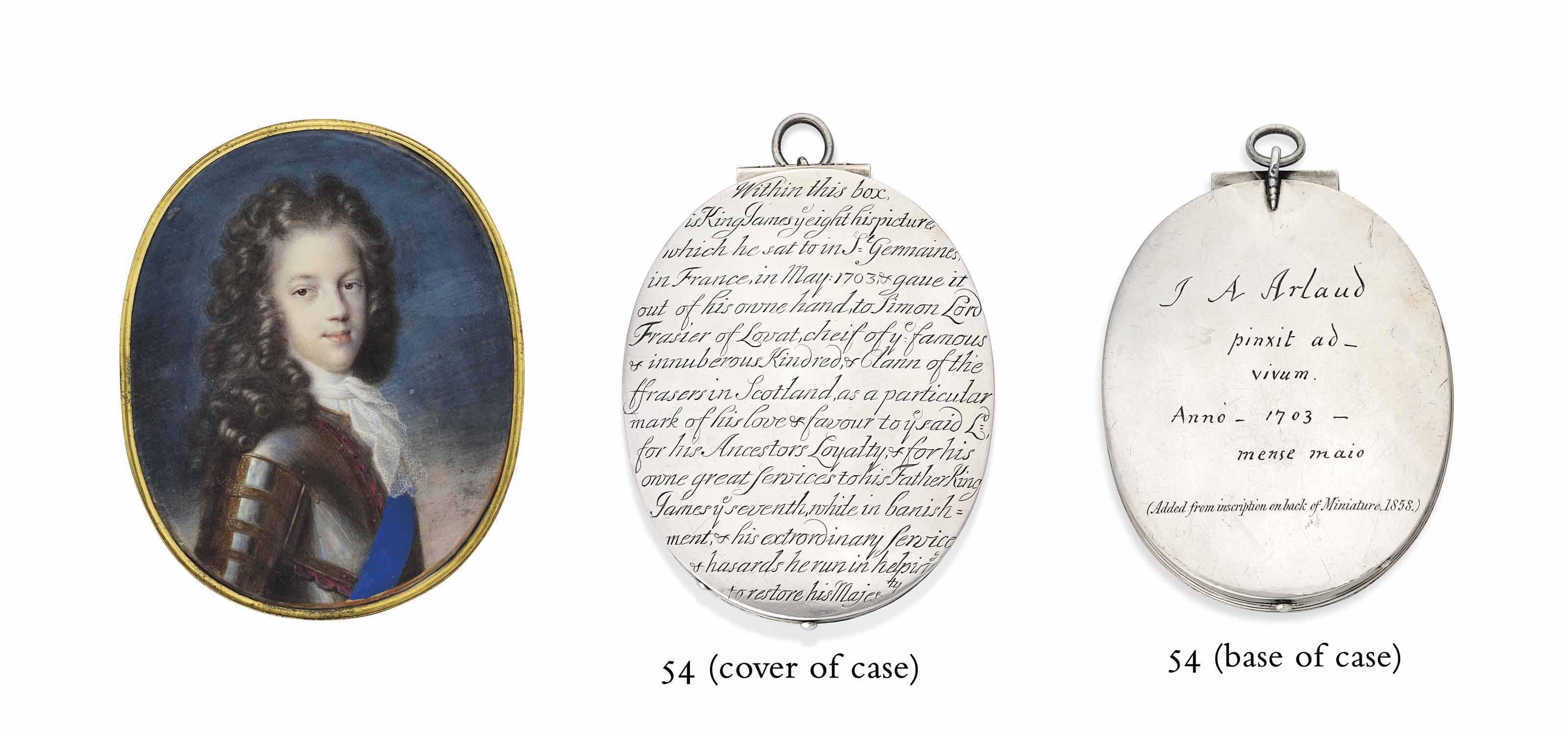 JACQUES ANTOINE ARLAUD (SWISS, 1668-1746)