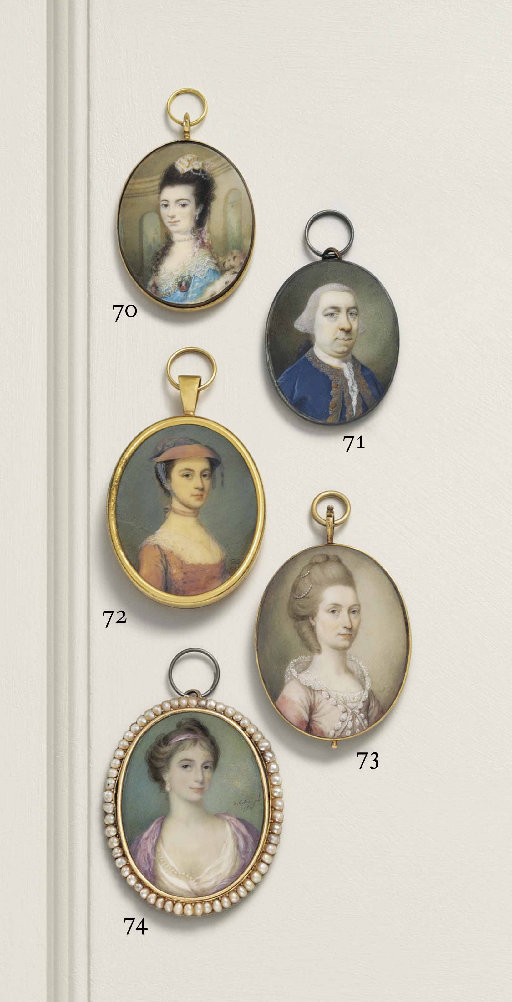 SAMUEL COTES (BRITISH, 1734-1818)