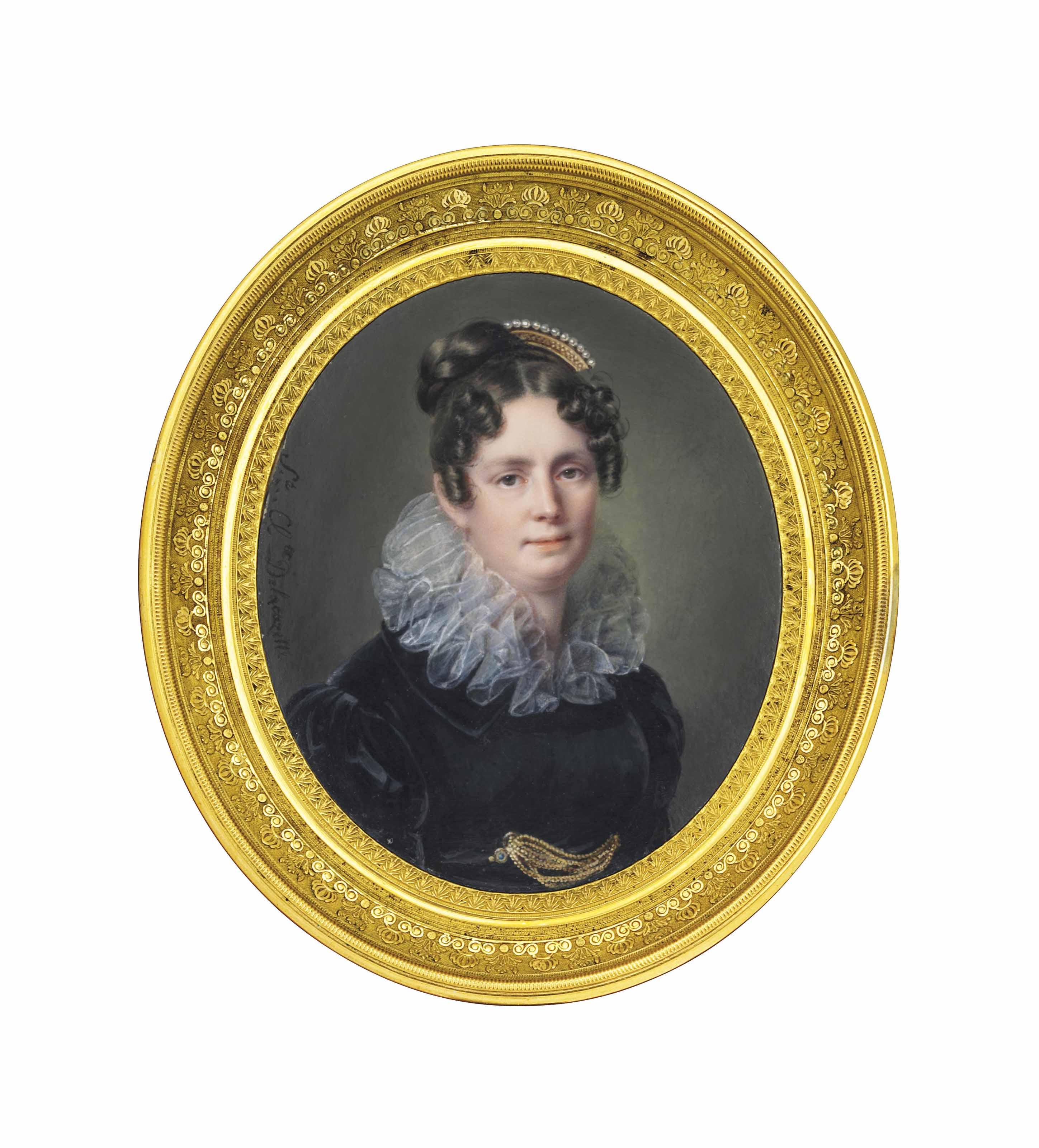 SOPHIE CLÉMENCE DELACAZETTE (FRENCH, 1774-1854)