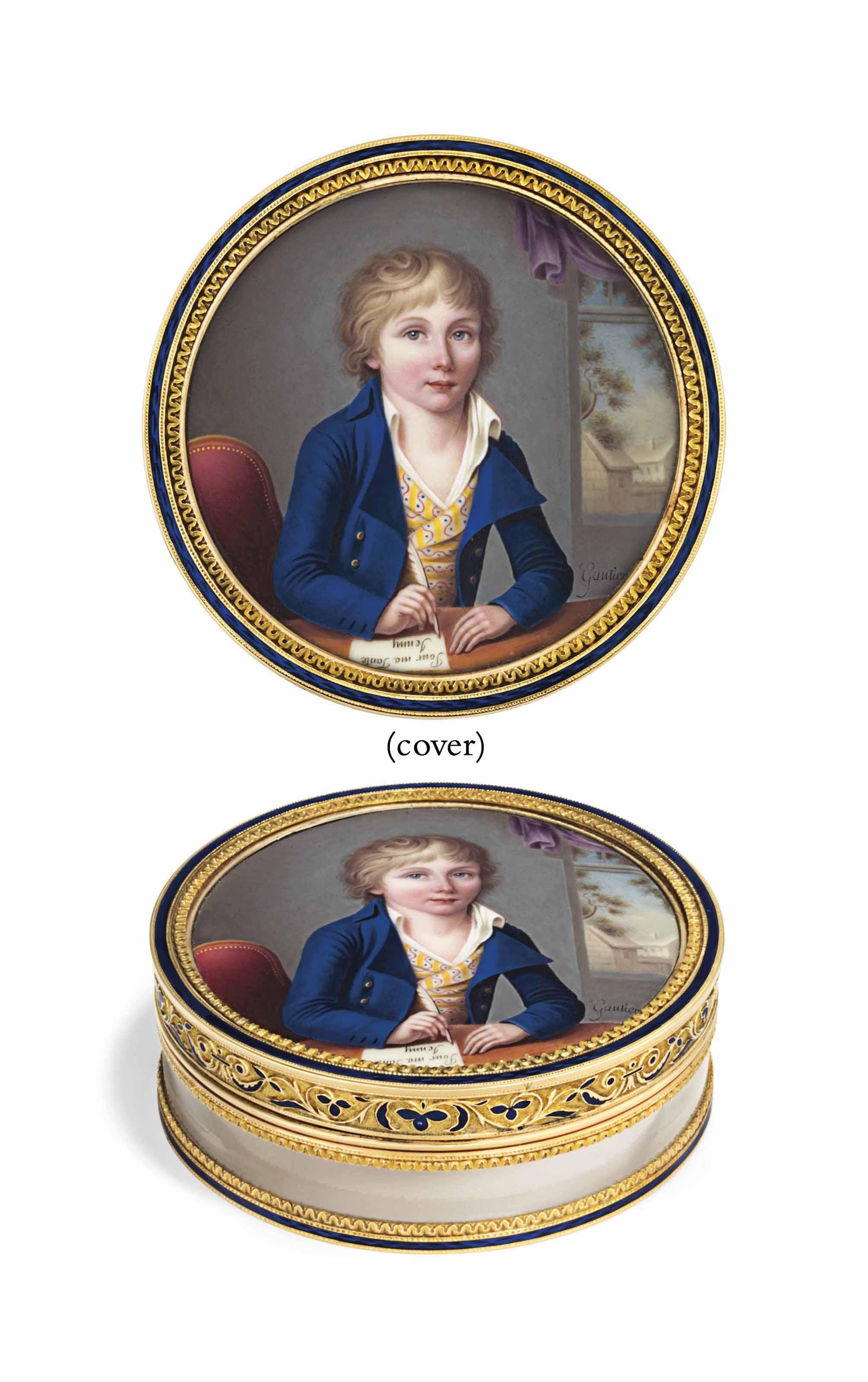 JEAN RODOLPHE GAUTIER (SWISS, 1764 -  AFTER 1817)