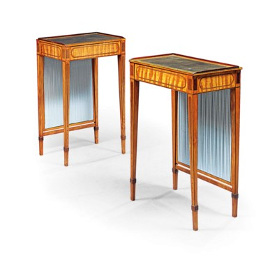 A PAIR OF GEORGE III INDIAN RO