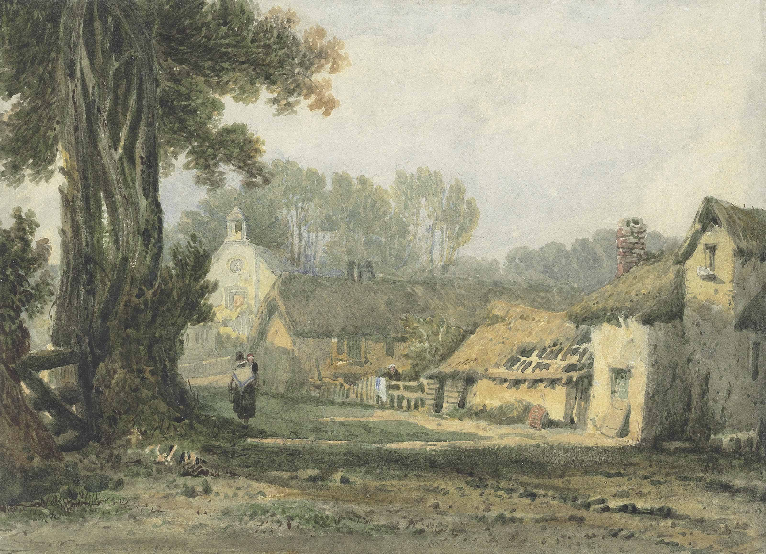 Circle of Samuel Prout, O.W.S. (Plymouth 1783-1852 Camberwell)