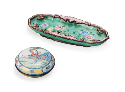 A CHINESE CANTONESE ENAMELLED