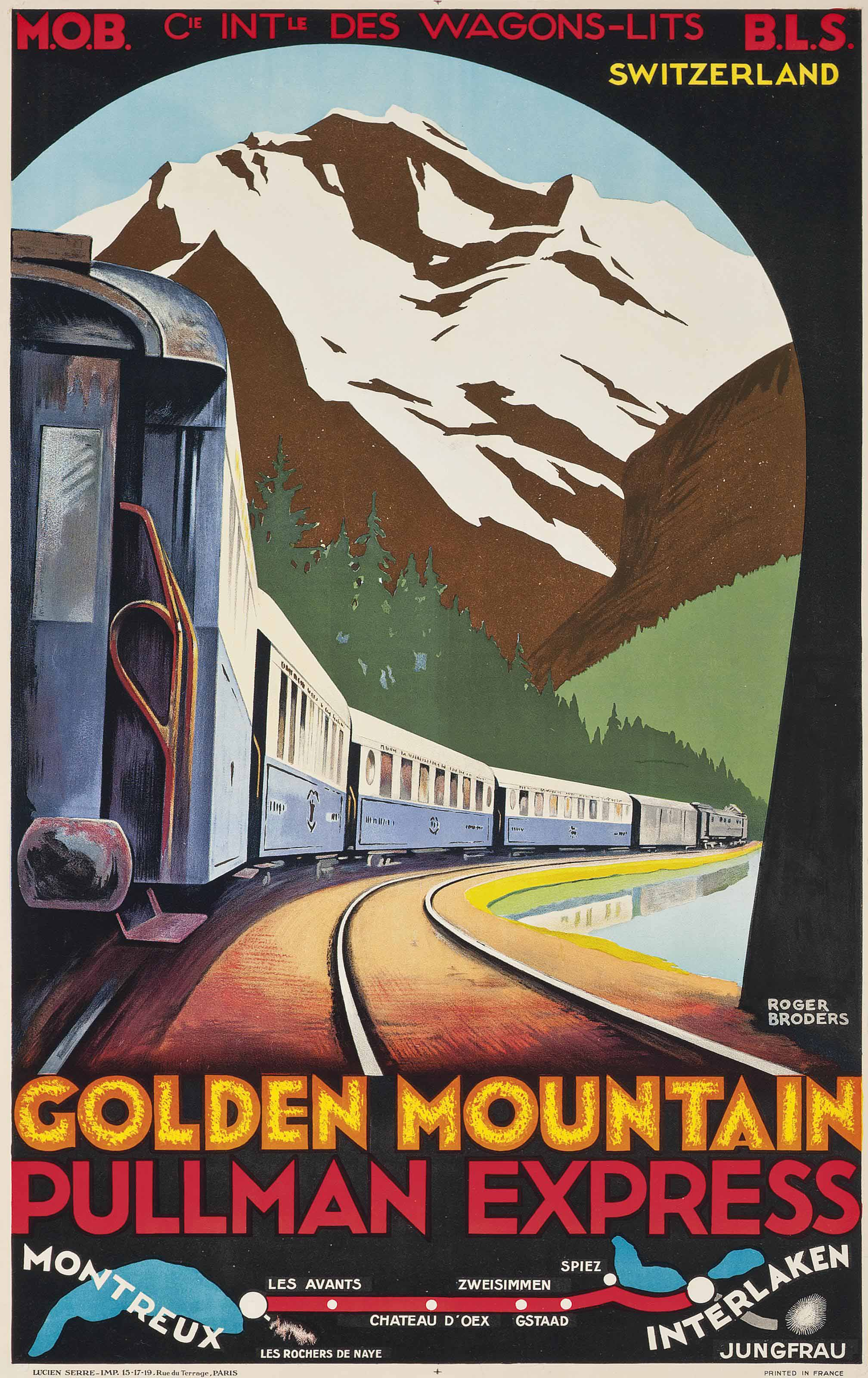 GOLDEN MOUNTAIN, PULLMAN EXPRESS