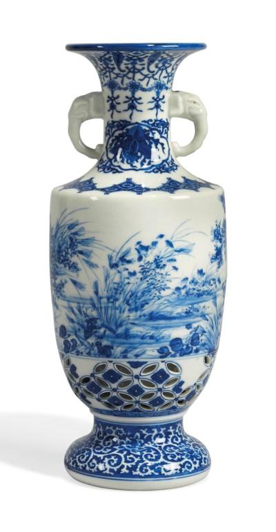A Japanese Kamegawa Vase