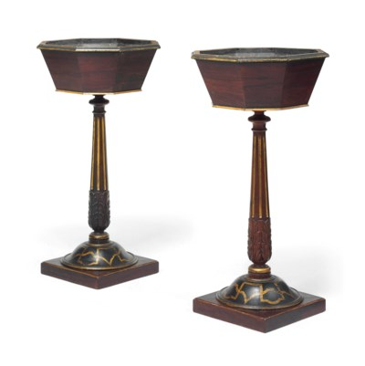 A PAIR OF LATE VICTORIAN PARCE