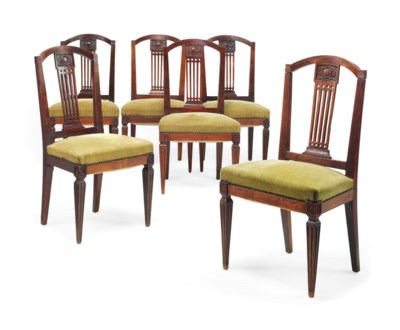 A SET OF SIX FRENCH PROVINCIAL