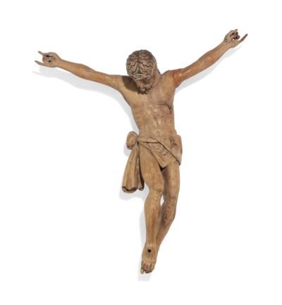 A CARVED WALNUT CORPUS CHRISTI