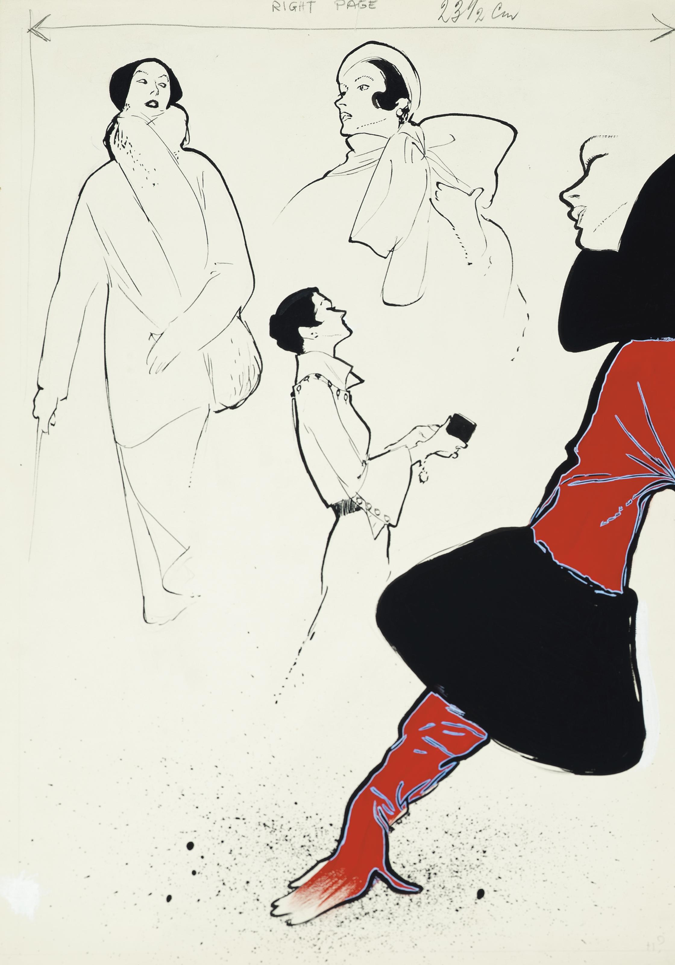 RENÉ GRUAU (1909-2004)