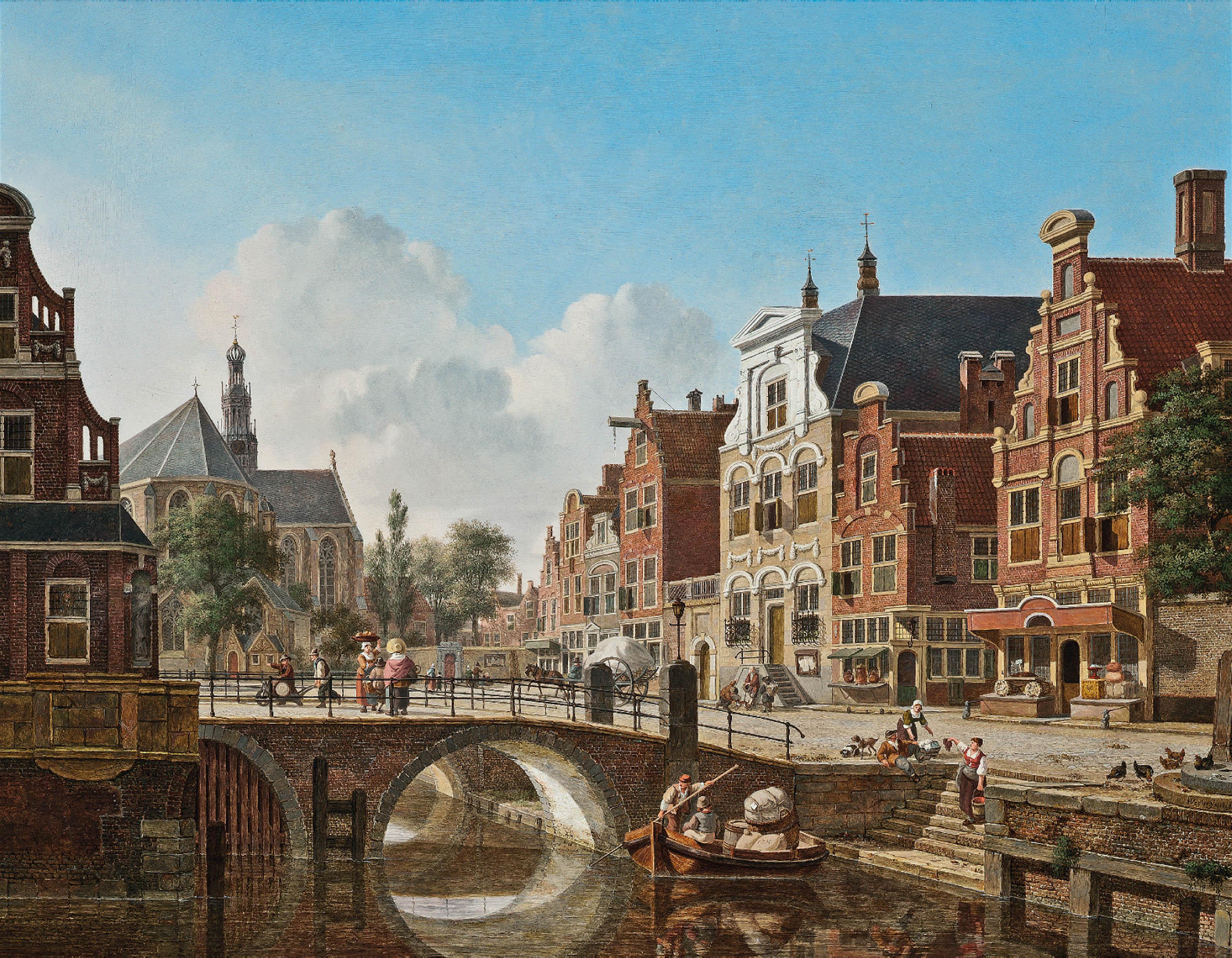 A busy canal, Utrecht