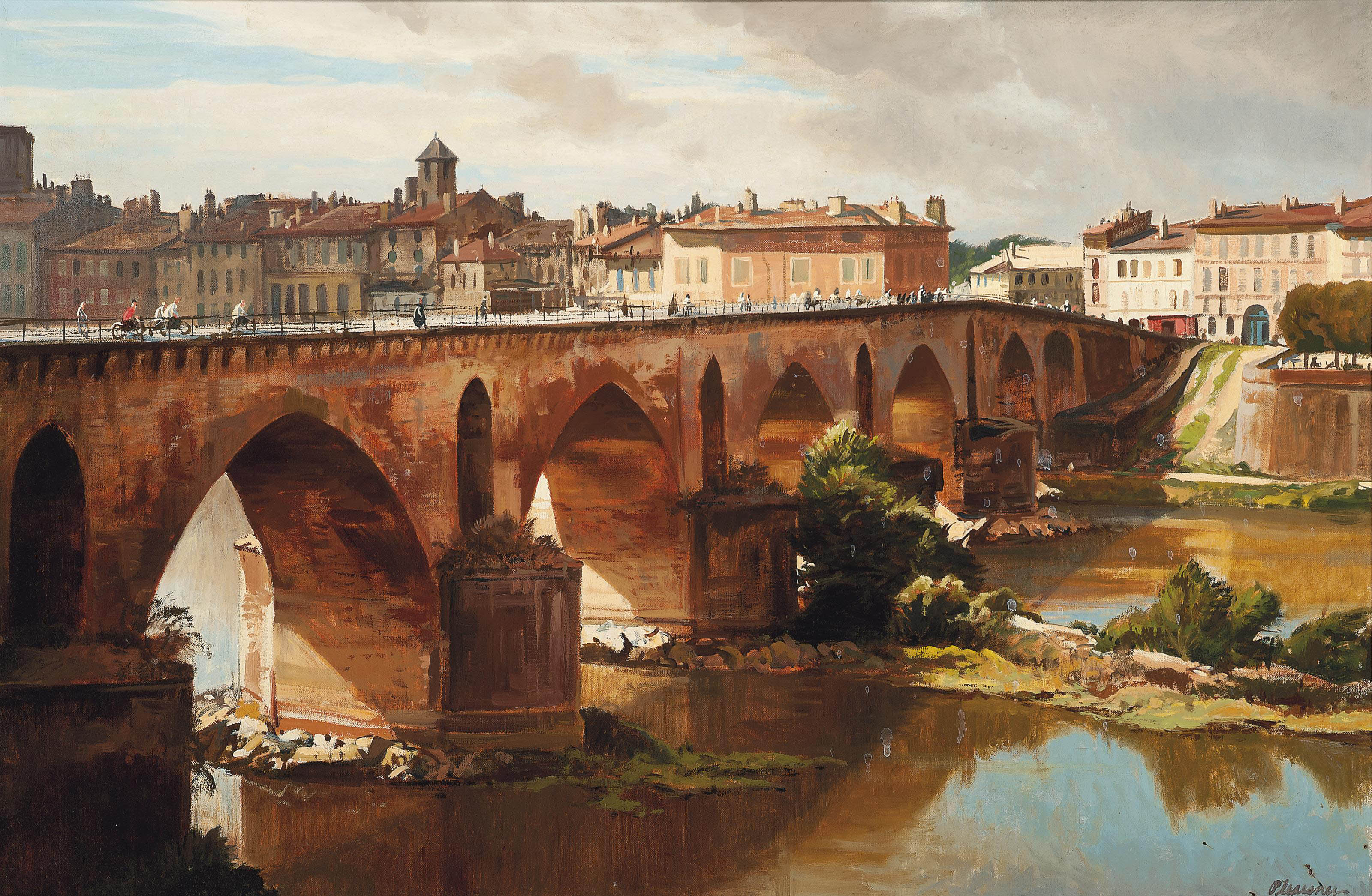 The bridge at Montauban
