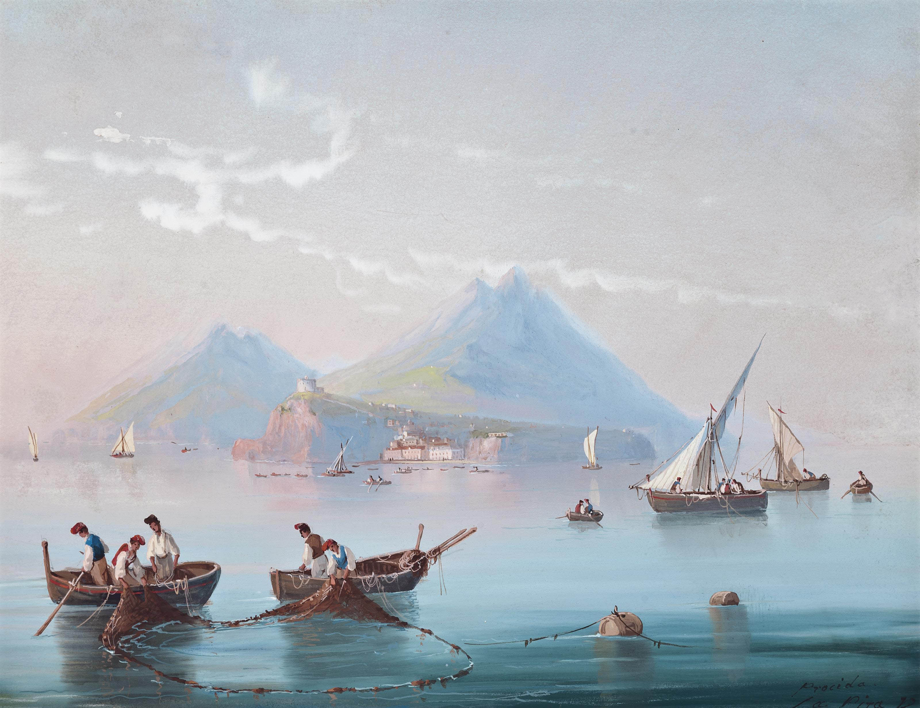 View of Procida