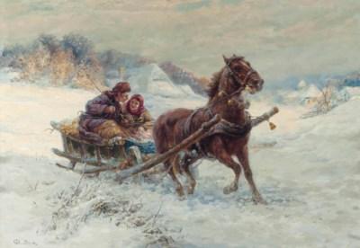 Gustave Prucha (Austrian, 1875
