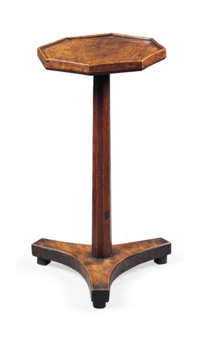 A WILLIAM IV OAK OCCASIONAL TA