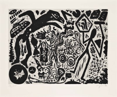 A. R. Penck (German, b.1939)