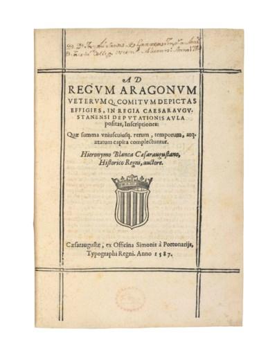 BLANCAS, Jeronimo de (d.1530).