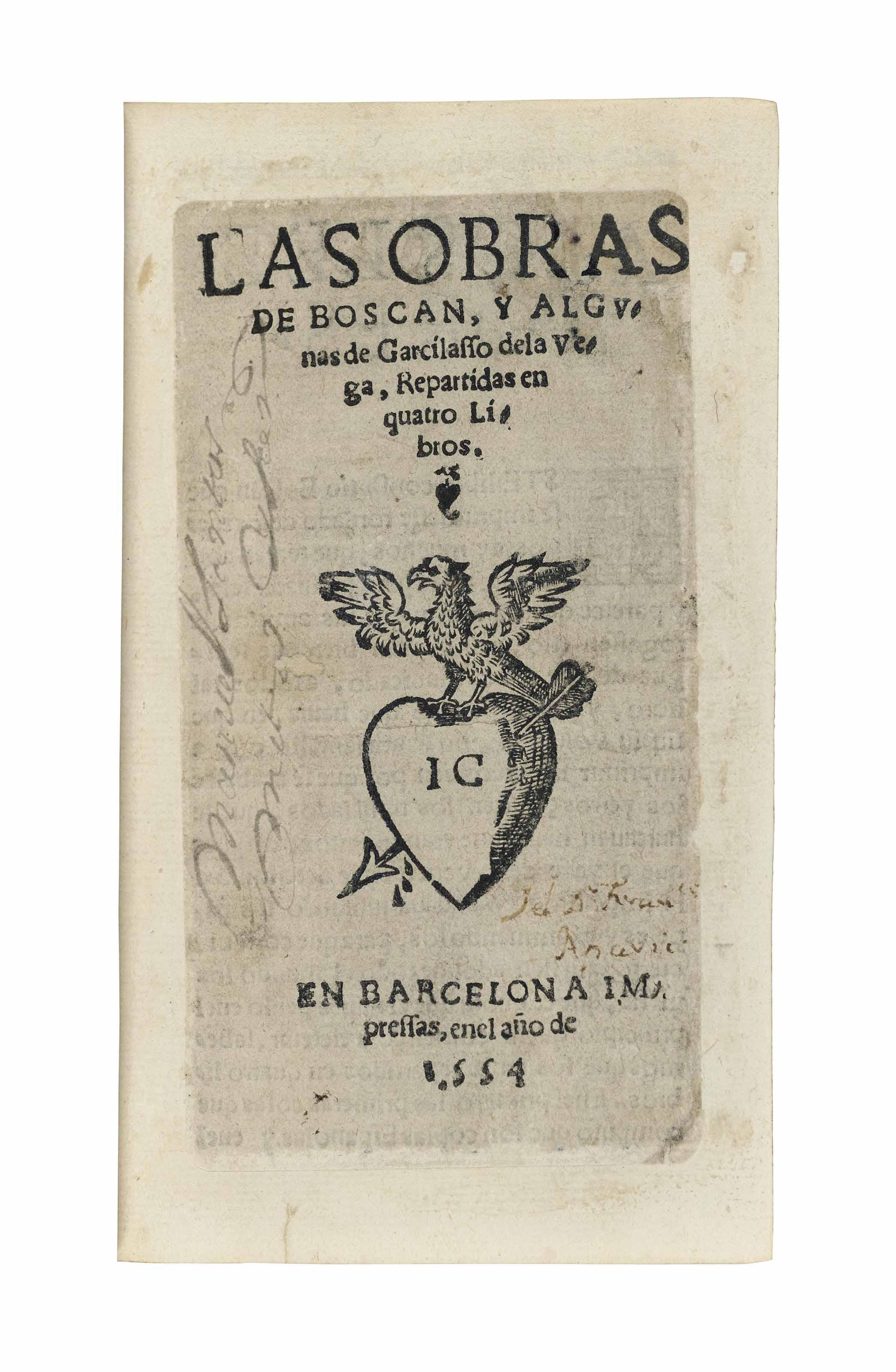 BOSCÁN, Juan (c.1487-1542) and