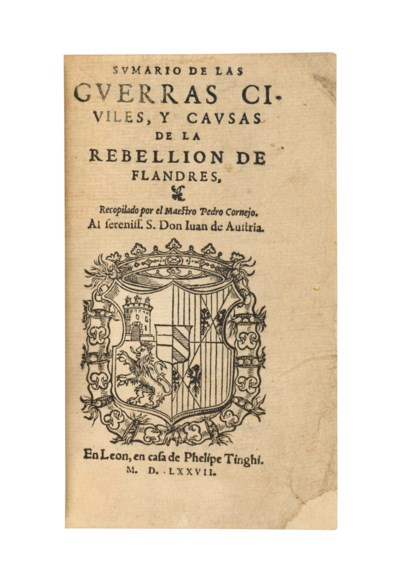 CORNEJO, Pedro (1536-1618). Su