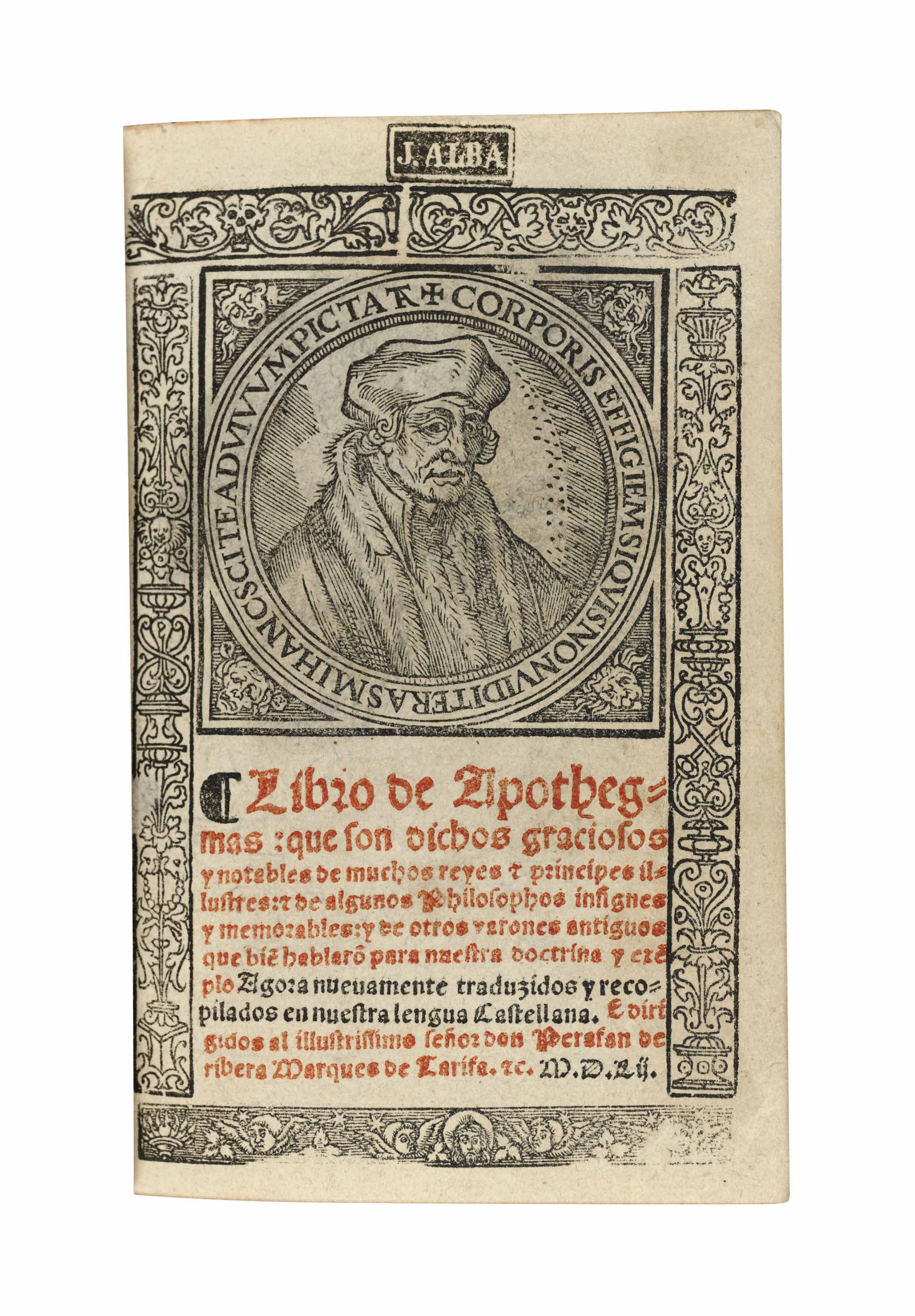 ERASMUS, Desiderius (1466-1536
