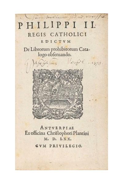 Index librorum prohibitorum, c