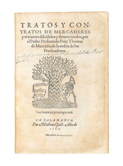 MERCADO, Tomas de (c.1525-c.15