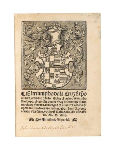 SAVONAROLA, Girolamo (1452-149