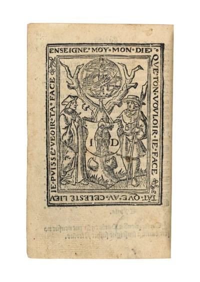 GOEUROT, Jean (fl. 1530). Le S