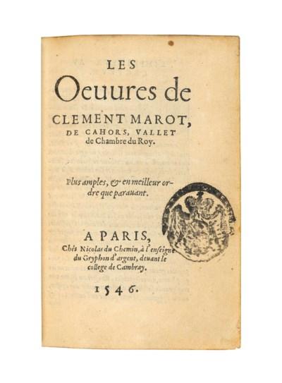 MAROT, Clement (1495?-1544). L