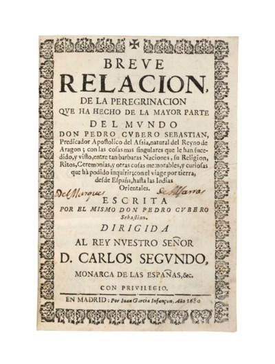 CUBERO SEBASTIAN, Pedro (c. 16