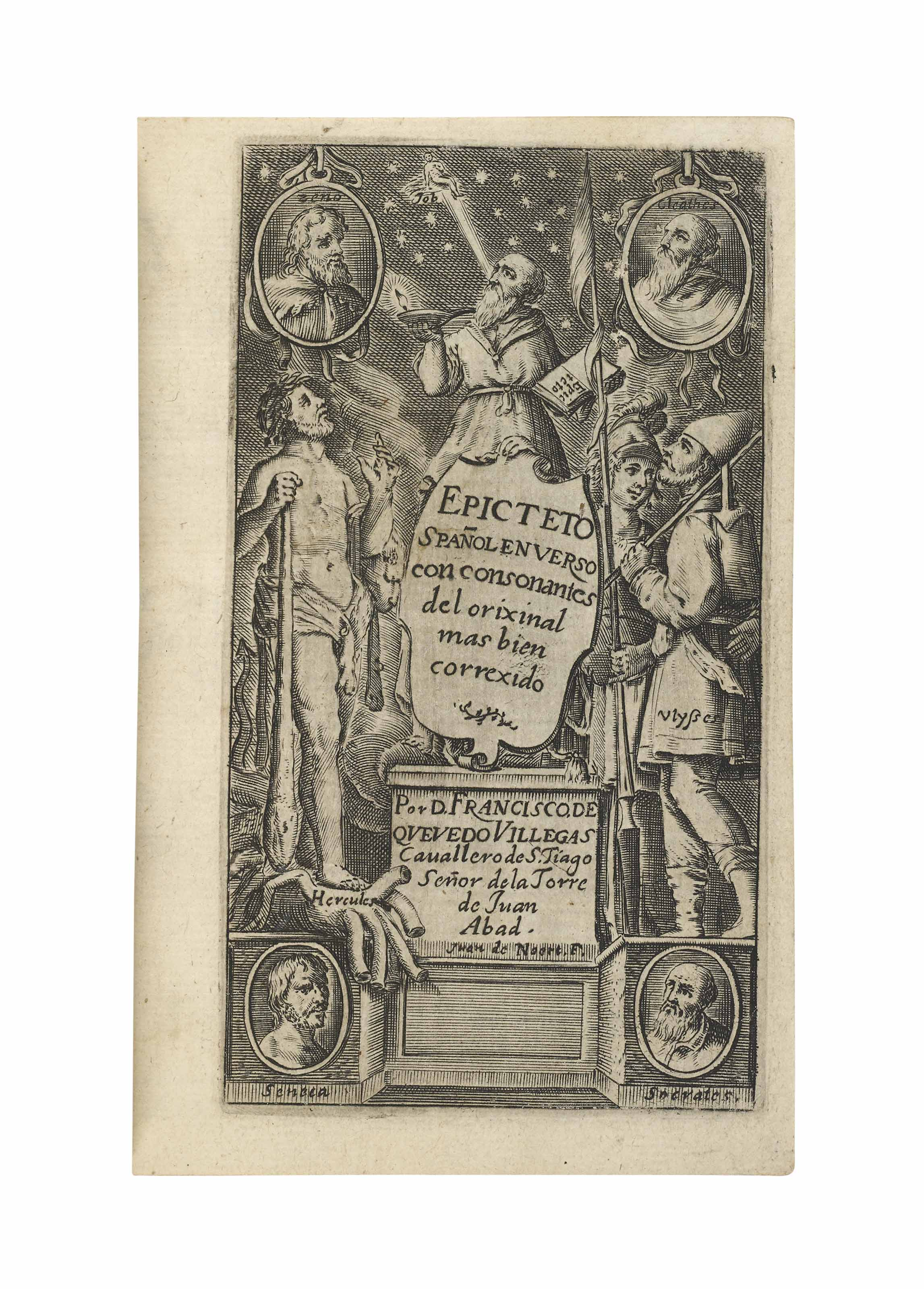 EPICTETUS (c. AD 60-140). Doct