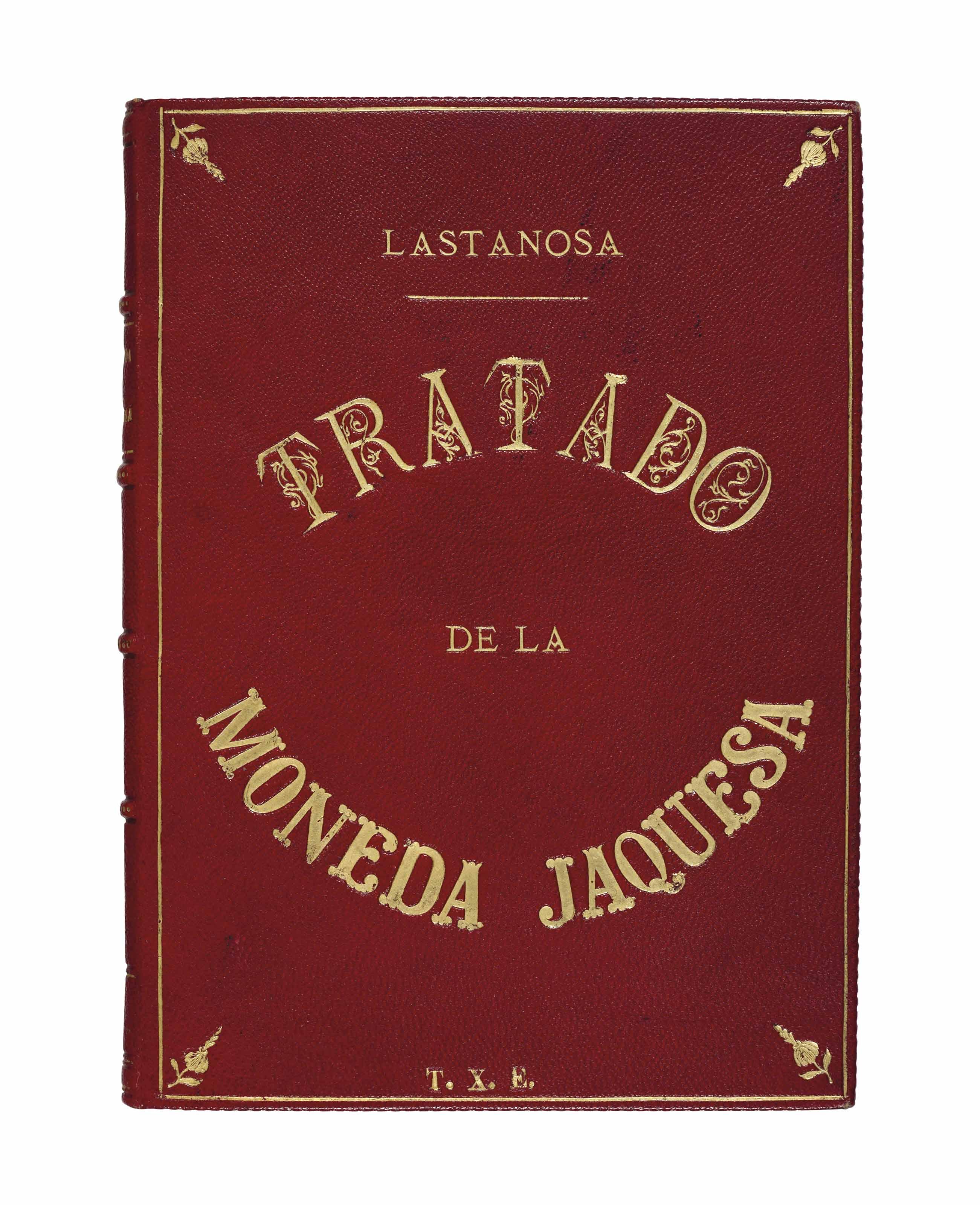 LASTANOSA, Vincencio Juan de.