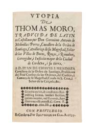 MORE, Thomas (1478-1535). Utop