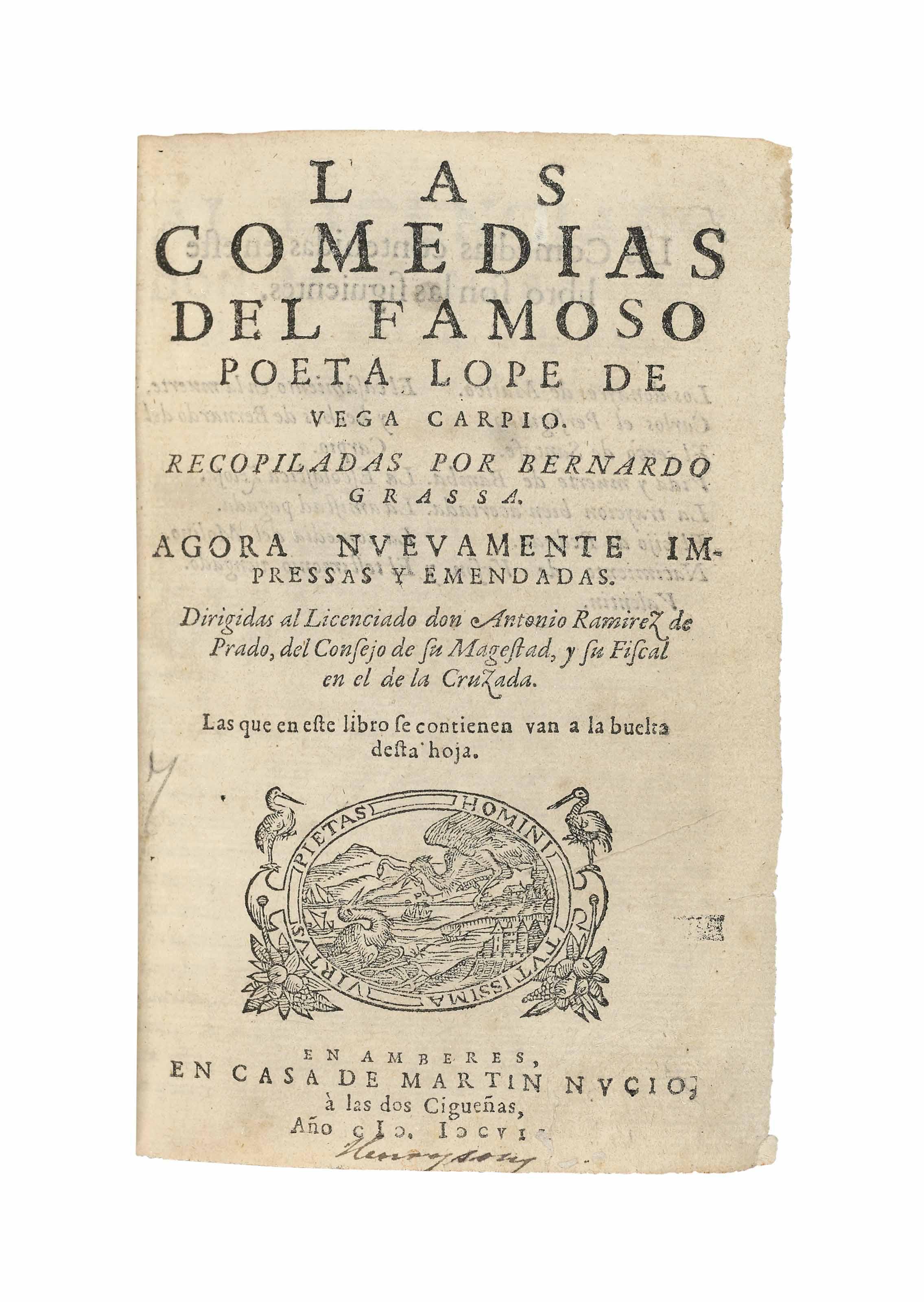 VEGA CARPIO, Lope de (1562-163