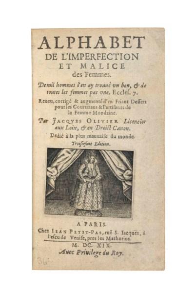 OLIVIER, Jacques. Alphabet de