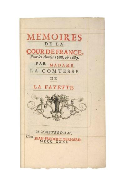 LAFAYETTE, Marie Madeleine Pio