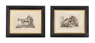 EIGHT LITHOGRAPHS OF EQUESTRIA