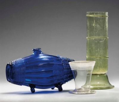 A BEAKER, A BLUE-GLASS SCHERZG