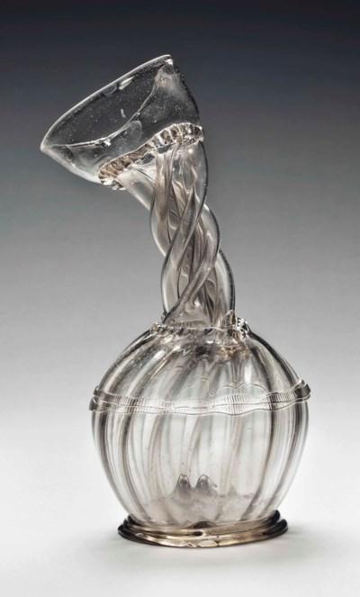 A GLASS KUTTROLF