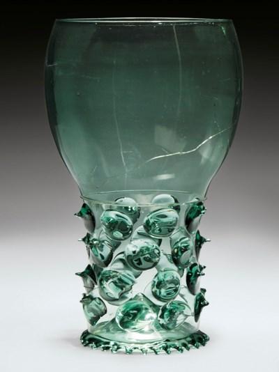 A MAMMOTH GLASS ROEMER