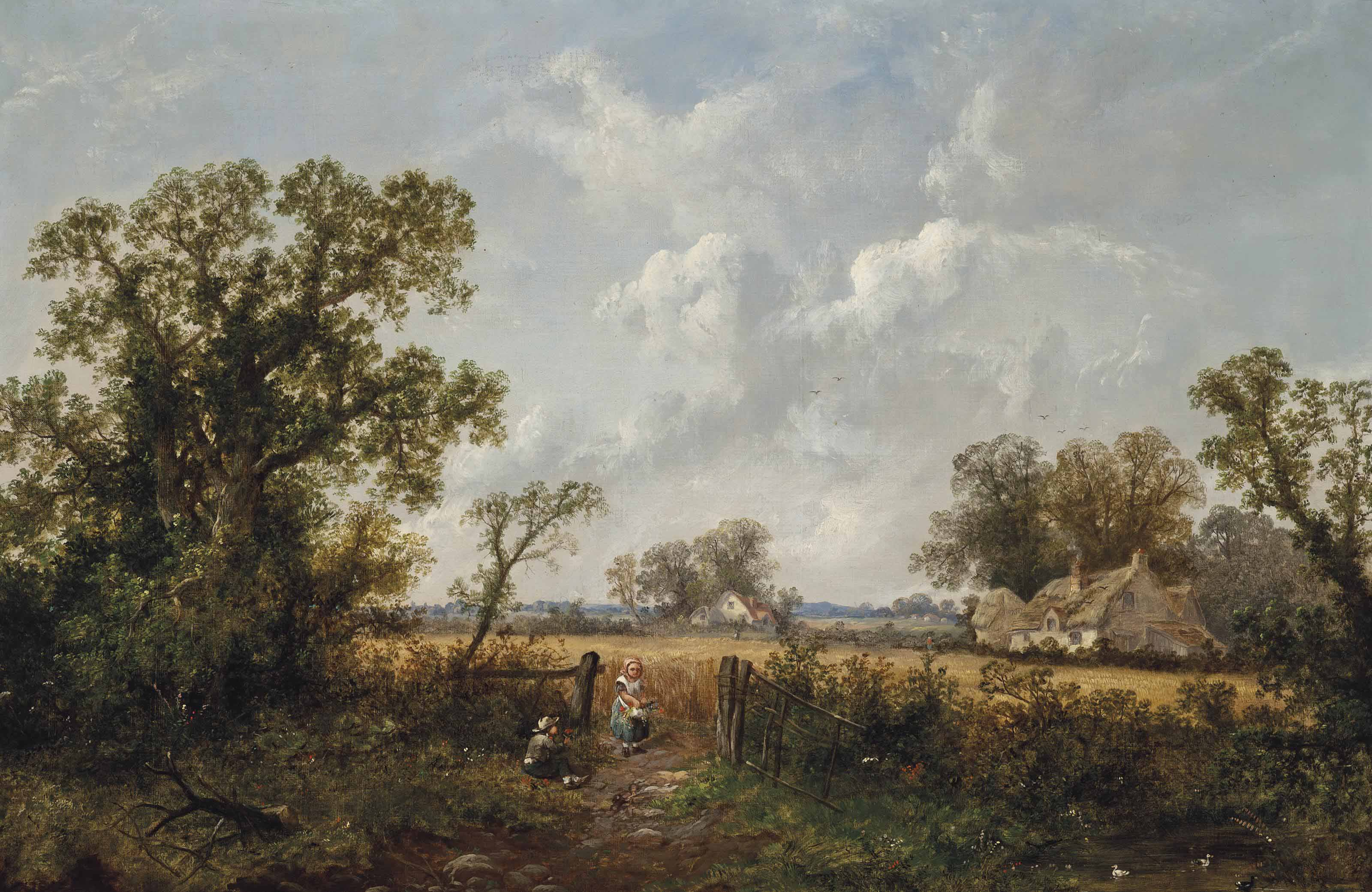 The farmer's children