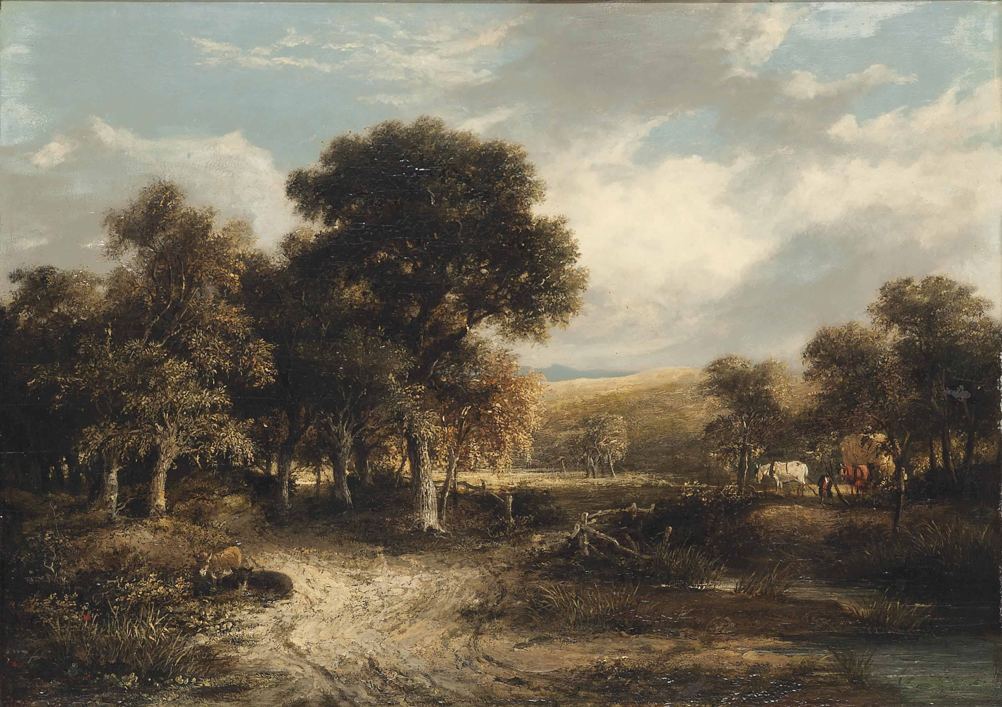 Circle of James Stark (1794-18