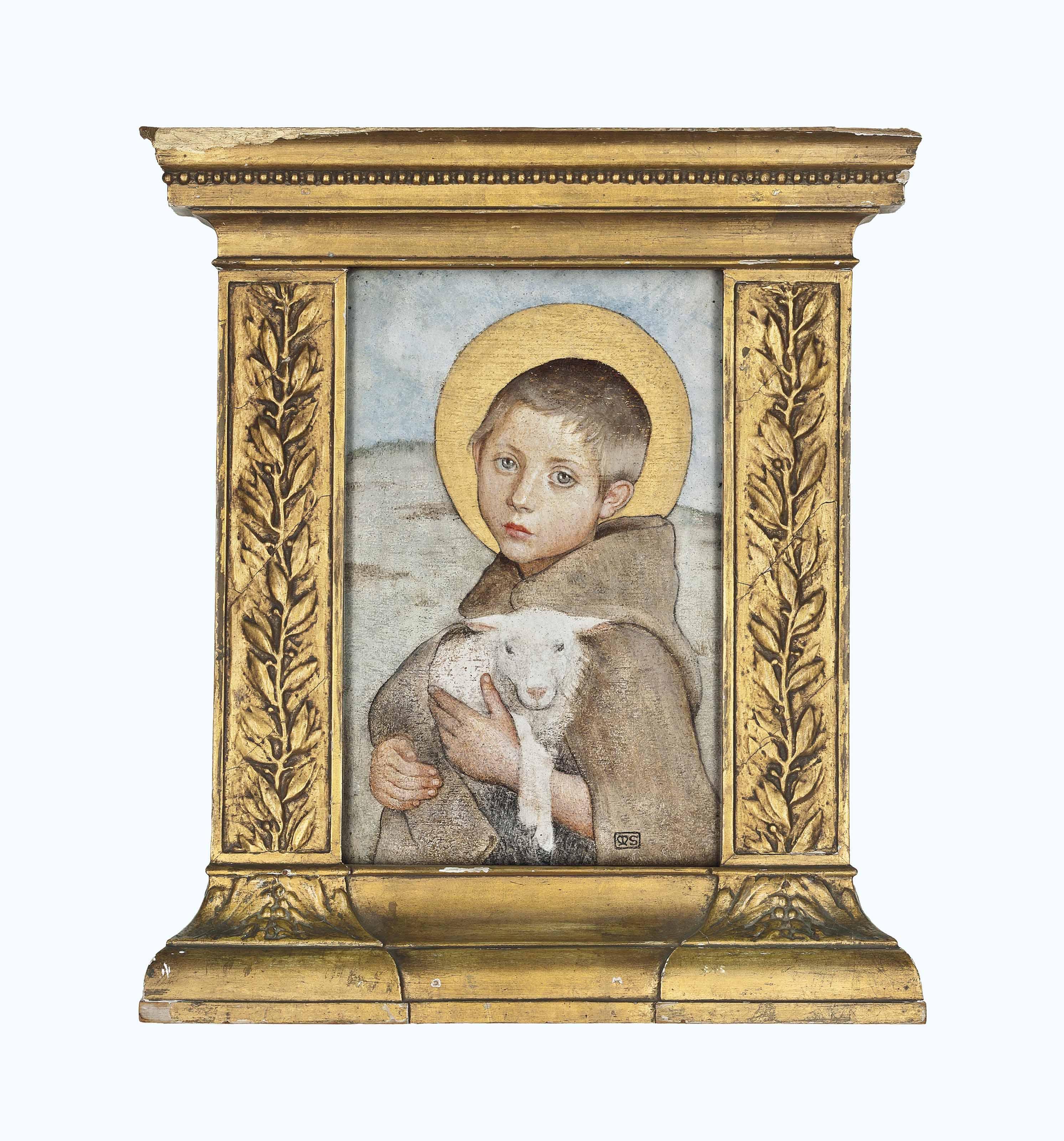 The infant St. John