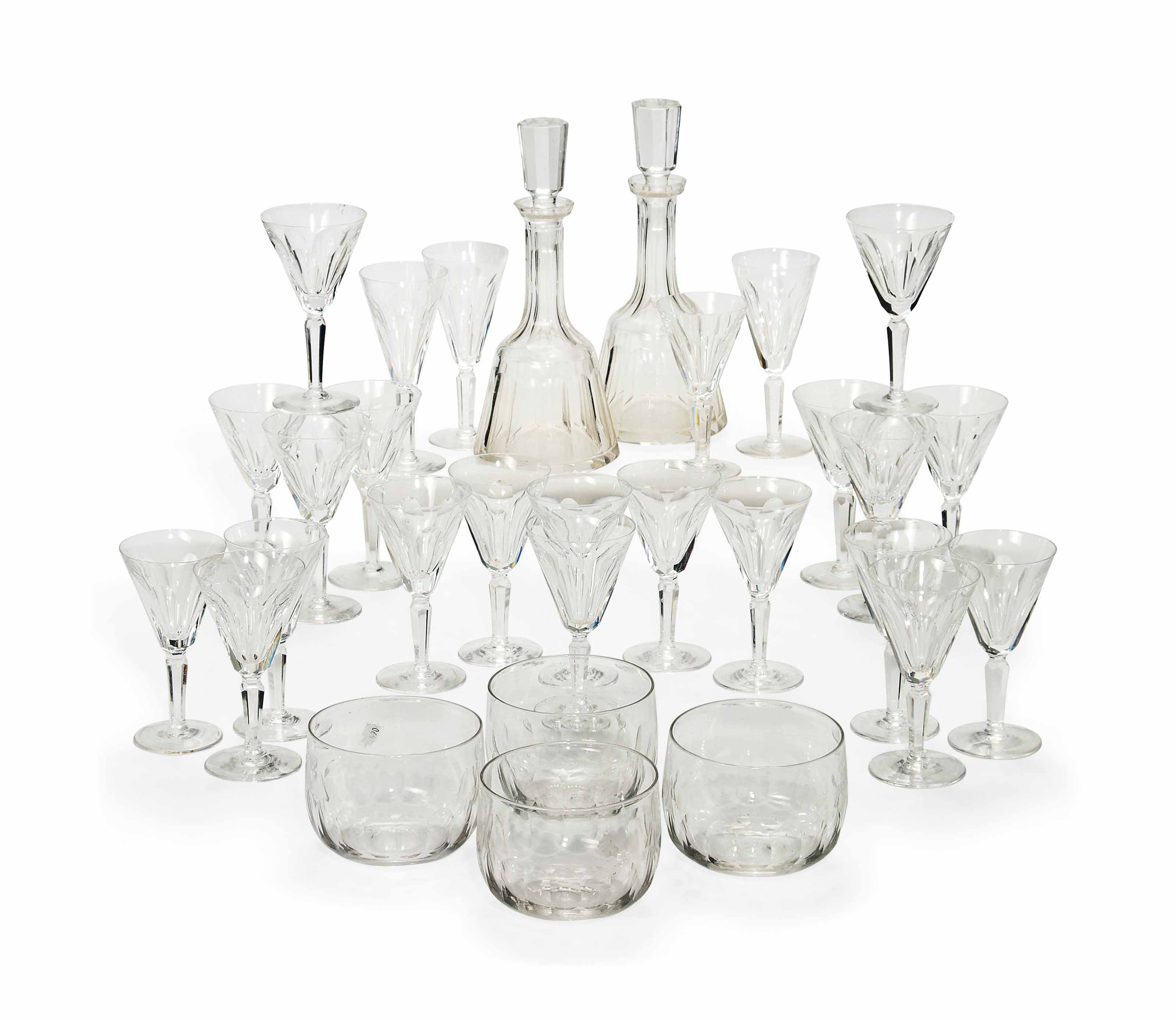 A PART SUITE OF WATERFORD 'SHEILA' PATTERN GLASSWARE