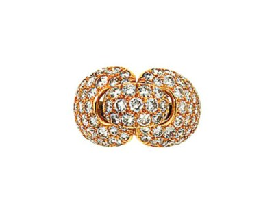 A diamond dress ring, by Bouch